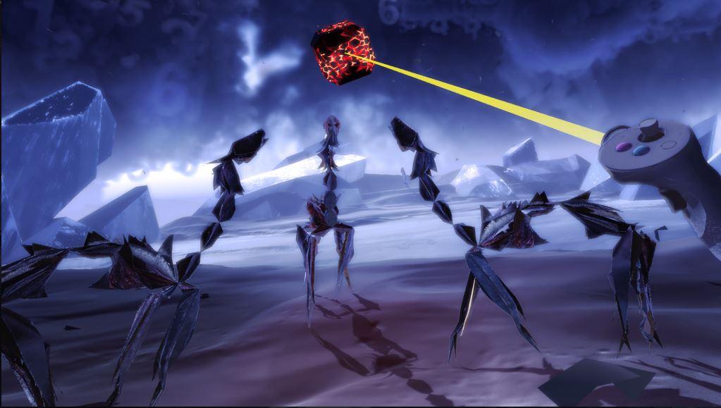 Screenshot of Paper Beast gameplay - 1